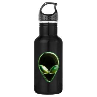 Metal Alien Head 04 Liberty Bottle
