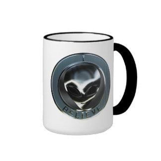 Metal Alien Head 05 Mug