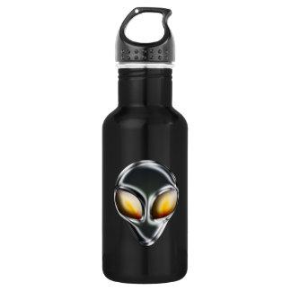 Metal Alien Head Liberty Bottle
