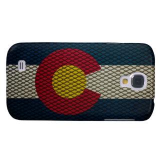 Metal ampliado bandera de Colorado impresionante