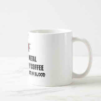 Metal and Coffee Coffee Mug