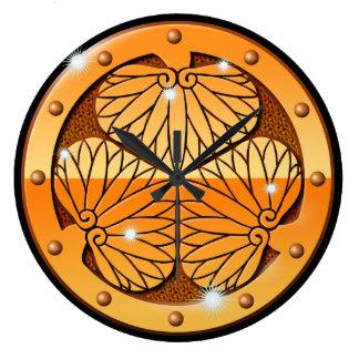 Metal Aoi Large Clock