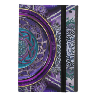 Metal Armored Fractal Tapestry Celtic Knot iPad Mini 4 Case