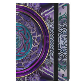 Metal Armored Fractal Tapestry Celtic Knot iPad Mini Cases