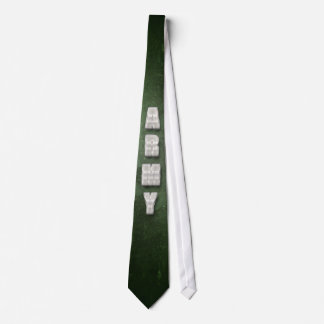 Metal Army Text Tie