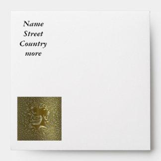 metal art 02 golden envelopes