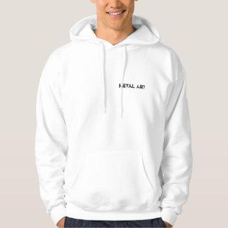 Metal Art Hooded Sweatshirts