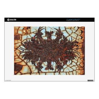 metal art rusty skins for laptops
