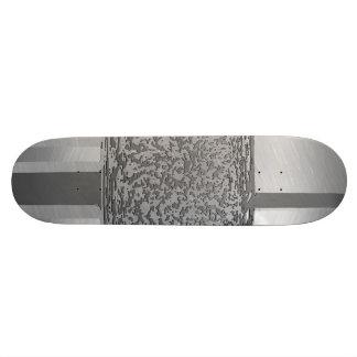 metal art silver 03 skateboard