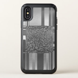 metal art silver 03 speck iPhone x case