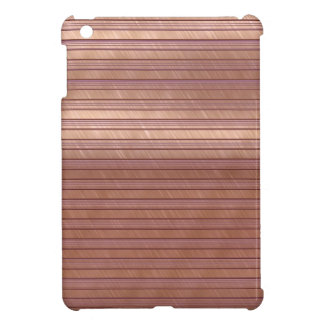 metal art stripes terra case for the iPad mini