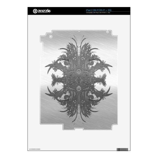 metal art tattoo iPad 2 decal