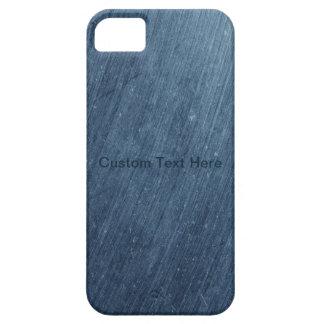 Metal azul sucio iPhone 5 funda
