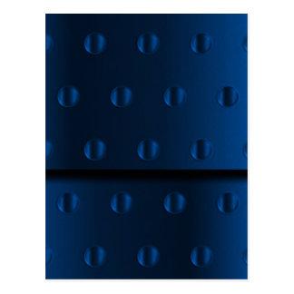 Metal azul postal