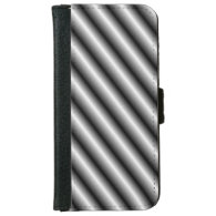 Metal Bars iPhone 6 Wallet Case