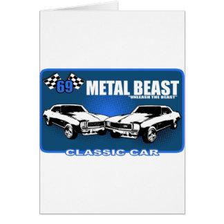 "Metal Beast ""Unleash The Beast"" Card"