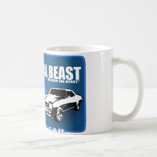 "Metal Beast ""Unleash The Beast"" Classic White Coffee Mug"