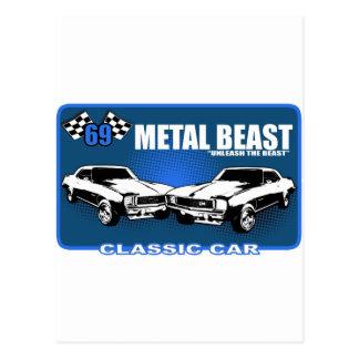 "Metal Beast ""Unleash The Beast"" Postcard"