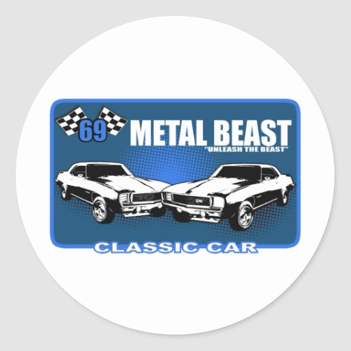 "Metal Beast ""Unleash The Beast"" Sticker"