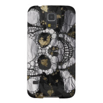 Metal Bling Skull and Bones Galaxy S5 case