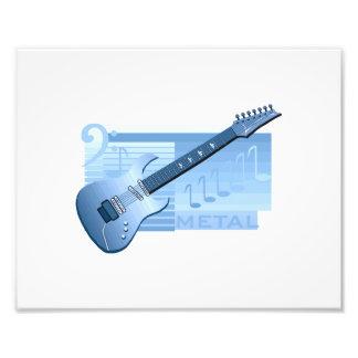 metal blue.png de la guitarra eléctrica fotografías