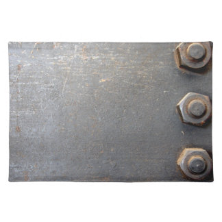 Metal Bolt and Plate Placemat