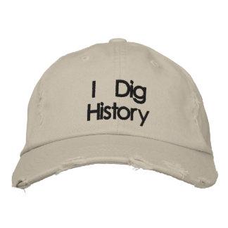 Metal bordado que detecta cavo el gorra de la hist gorra de béisbol