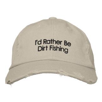 Metal bordado que detecta el gorra gorra de béisbol