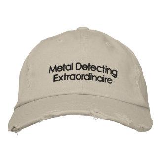 Metal bordado que detecta el gorra gorros bordados