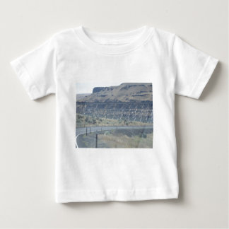 Metal Bridge Over River Baby T-Shirt