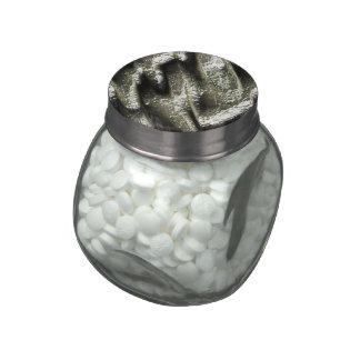 Metal brillante 5 (i) frascos de cristal