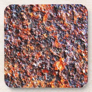Metal Brown rígido de los desperdicios viejo Posavasos De Bebida