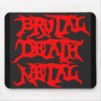Metal brutal de la muerte tapetes de ratones