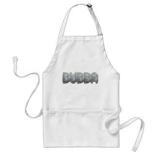 Metal BUBBA - Redneck Bling Adult Apron