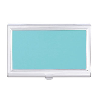 Metal Business Card Case (Pale Blue)