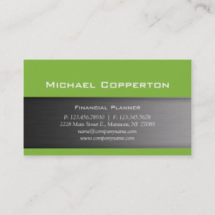 Header business cards templates zazzle metal business card lime green header reheart Image collections
