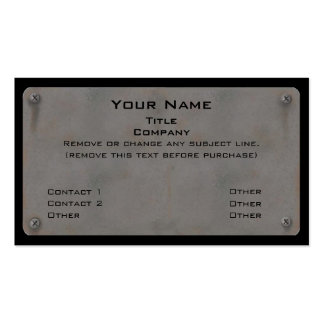 Metal Business Cards II