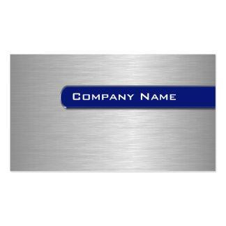 Metal Business Cards Template