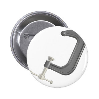 Metal C or G clamp Button