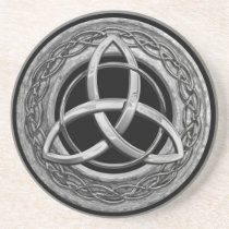 Metal Celtic Trinity Knot Coaster