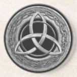 Metal Celtic Trinity Knot Coasters
