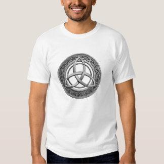 Metal Celtic Trinity Knot T Shirt