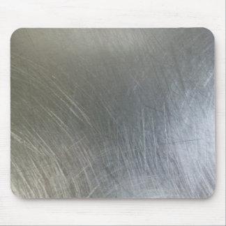 Metal cepillado alfombrilla de ratón