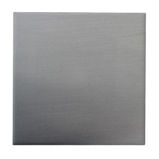 Metal cepillado azulejo cuadrado pequeño