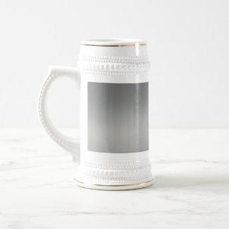 Metal cepillado con clase texturizado jarra de cerveza