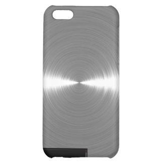 Metal cepillado plata iPhone4