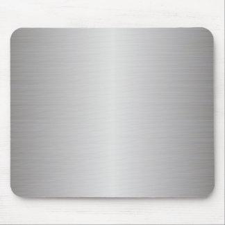 metal cepillado tapete de ratón