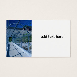 metal chain link fence business card