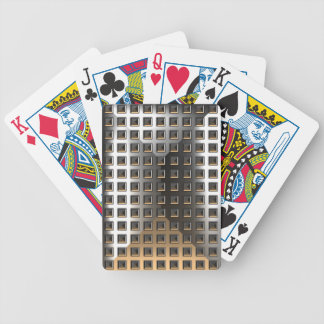 Metal Checkerboard Bicycle Playing Cards