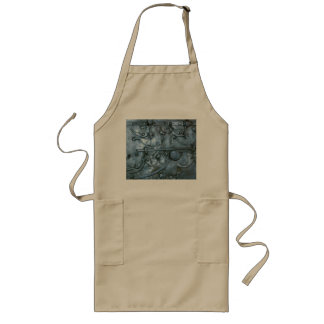 Metal Chest with Lock Mechanisms Aprons